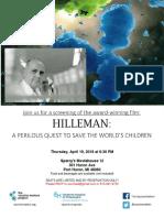 Hilleman Msms Poster