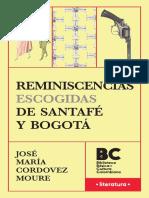 Reminiscencias Escogidas de Santafe y Bogota