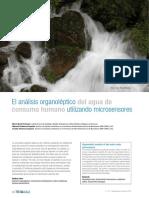 Articulo Tecnico Analisis Organoleptico Agua Consumo Humano Microsensores Tecnoaqua Es