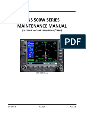 GNS 500W SERIES Maintenance Manual | Global Positioning ... Garmin Gpsmap Schematic Diagrams Service Manuals on