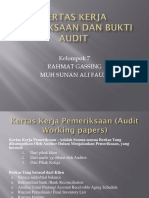 Kertas Kerja Pemeriksaan Dan Bukti Audit