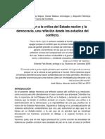Violencia Estructural y Paz Positiva en el CONFLICTO Colombiano