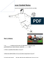soccer guided notes