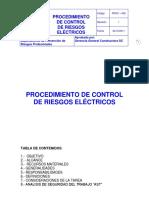 6.Procedimiento Control de Riesgos Electricos