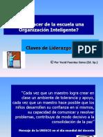 La Escuela Como Una Organizacion Inteligente. Por Yecid Puentes Osma.