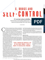 Sex, Drugs and Self Control - Nature