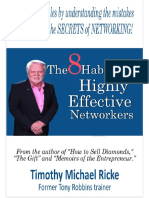 Eight Habits of Highly Effective Networkers