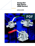 Parker SWB Swing Out Ball Valves