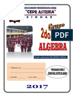 Algebra 2do