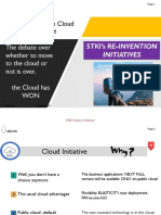 STKI Summit 2018 Journey to the Cloud Initiative
