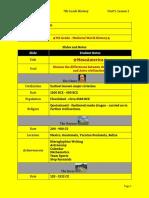 copy of lecture notes unit 5 lesson 1 - 7th grade - mesoamerica nicoll