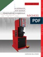 Punzonadora Hidraulica Mx340g 81 1407268419