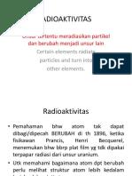 Chapter 13 Radioaktivitas1