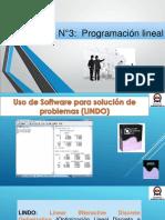 Presentación Software Lindo