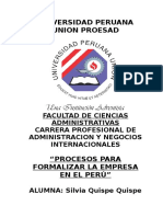 4464 50117 Proceso Para La Formalizacion de Las Empresas en El Peru