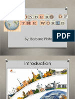 Wonders of the World.ppt
