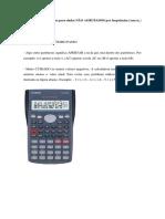 Calcula Do Rae Statistic a Descri Tiva