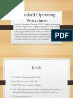 Standard Operating Procedures Trisna Rev1a