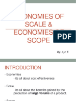 Economies of Scale & Scope