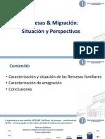 Migracion y Remesas