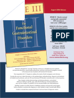 2006 ROME III. the Functional Gastrointestinal Disorders. GASTROENTEROLOGY