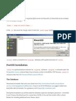Requirements — RiverGIS 1.0 Documentation