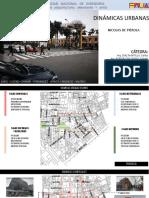 Dinamica Urbana en el Centro Histórico de Lima
