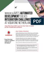 Wherescape - Vodafone Netherlands Case Study