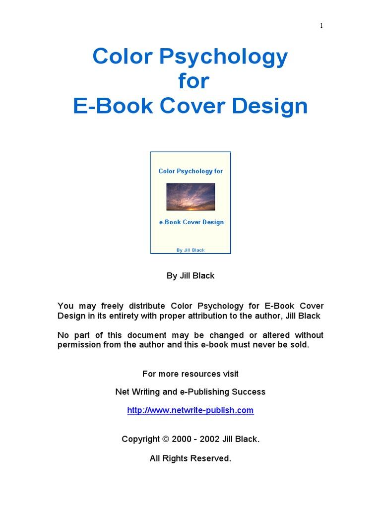 Color Psychology for eBook Cover Design   Color   Green