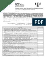 Test de Solucion de Problemas Sociales - SF- Español