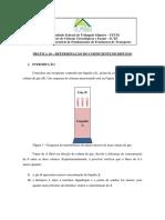 Pratica 10 Determinação Do Coeficiente de Difusão