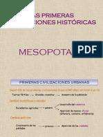 Mesopotamia su historia