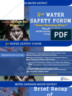 Water Safety Forum