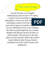 Who is Isaac Newton Reviewed File 2