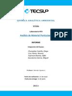 Informe Numero 7 de Química Analitica Ambiental Mesa 5