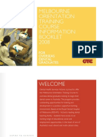 OTC Information Brochure 2008