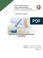 Efectos de los sucedáneos en los lactantes