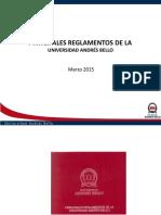 Clase Reglamentos UNAB 2015
