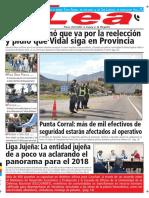 Periódico Lea Martes 20 de Marzo Del 2018