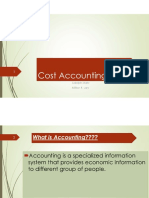 Lec 01 Cost Accounting