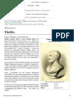 Tácito – Wikipédia, A Enciclopédia Livre