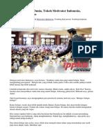 Tokoh Motivator Dunia, Tokoh Motivator Indonesia, Training Karyawan