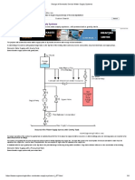 Design of Domestic Service Water Supply Systems