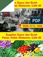 0896 0733 1098, Supplier Sayuran Yogyakarta