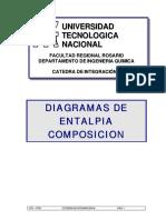 Diagramas de Entalpía - Concentracion (Final)