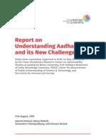CIS_UnderstandingAadhaarAndItsNewChallenges _Report.pdf
