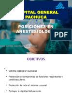 Posiciones Anestesia