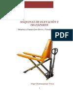 Máquinas de Elevación y Transporte Joege Guamanquispe Toasa