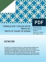 Formulacion y Evaluacion de Proyectos Diapositivas