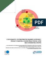 Curriculum on Entrepreneurship Education Program